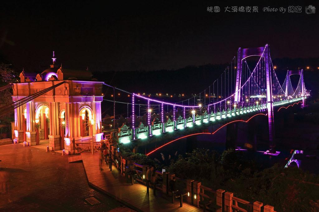 2016 桃園大溪橋夜景