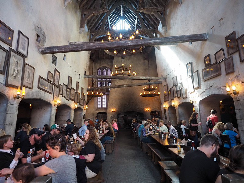 The Leaky Cauldron in Diagon Alley