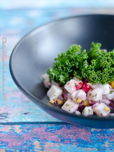Ceviche mit Grünkohlsalat (2)
