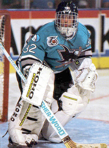 Irbe Sharks rookie