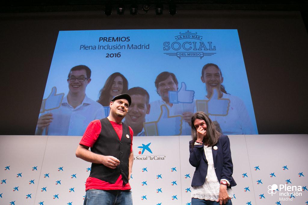 Gala Plena Inclusión Madrid 2016