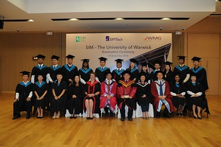SIMTech-SIM-University of Warwick Graduation Ceremony 2015