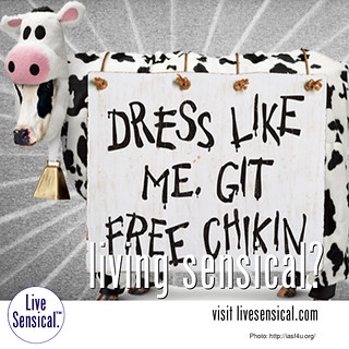 Chick fil a day free chicken dress like a cow living sensical