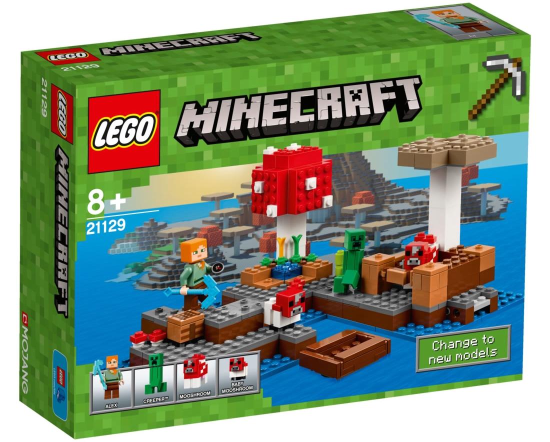LEGO Minecraft 21129 - Mushroom Island