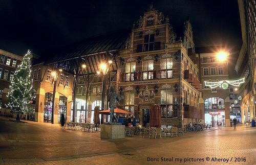 Goudkantoor,Groningen stad,the Netherlands,Europe