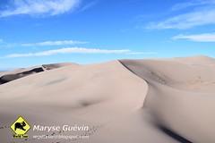 Great Sand Dunes National park Colorada USA États-Unis
