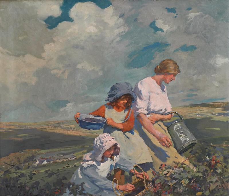 Elizabeth Forbes - Blackberry Gathering (c.1912)