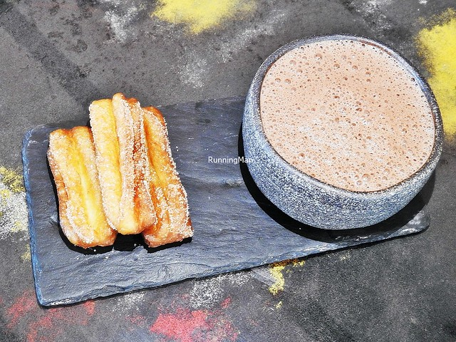 Monkey Shoulder Whisky Hot Chocolate With Churros