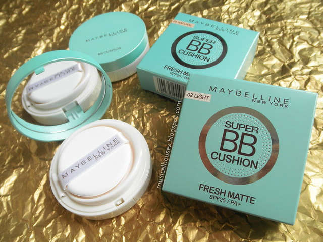 Maybelline Super BB Cushion Fresh Matte SPF25