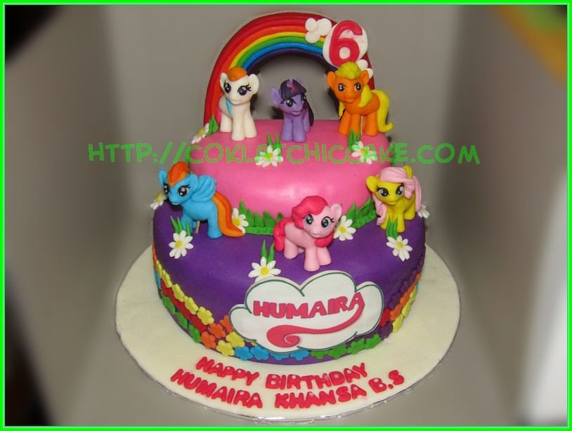 Cake My Little Pony Humaira Coklatchic Cake