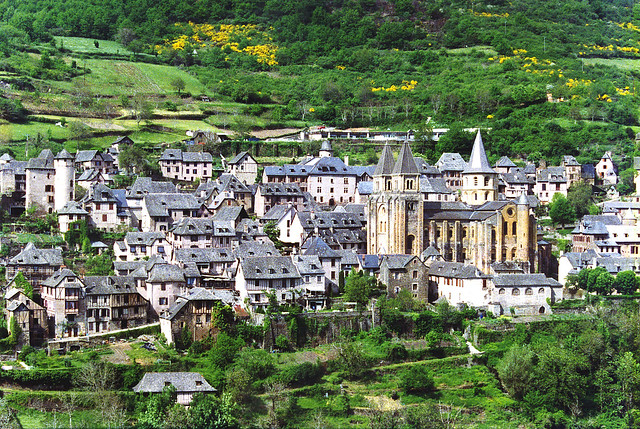 Conques, Aveyron, France