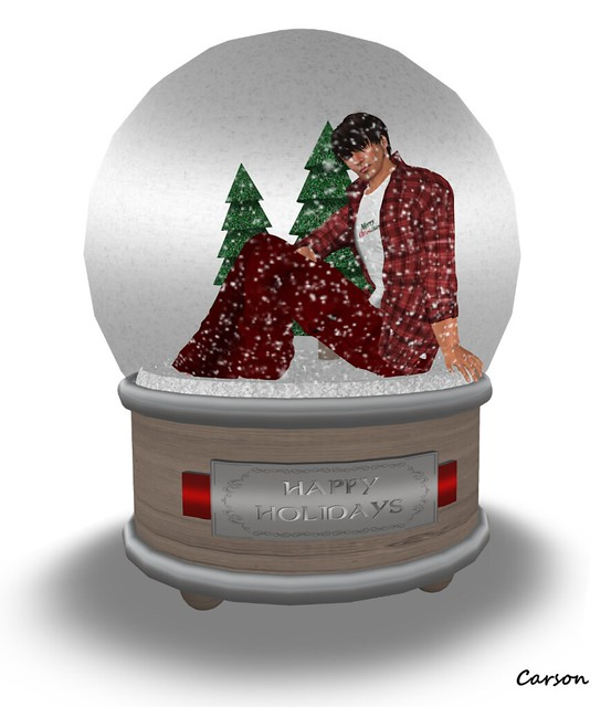 Tiar - Xmas Snow Globe - Home For The Holiday's Hunt
