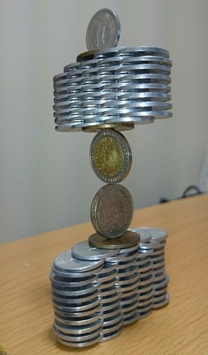 Coin stack 1