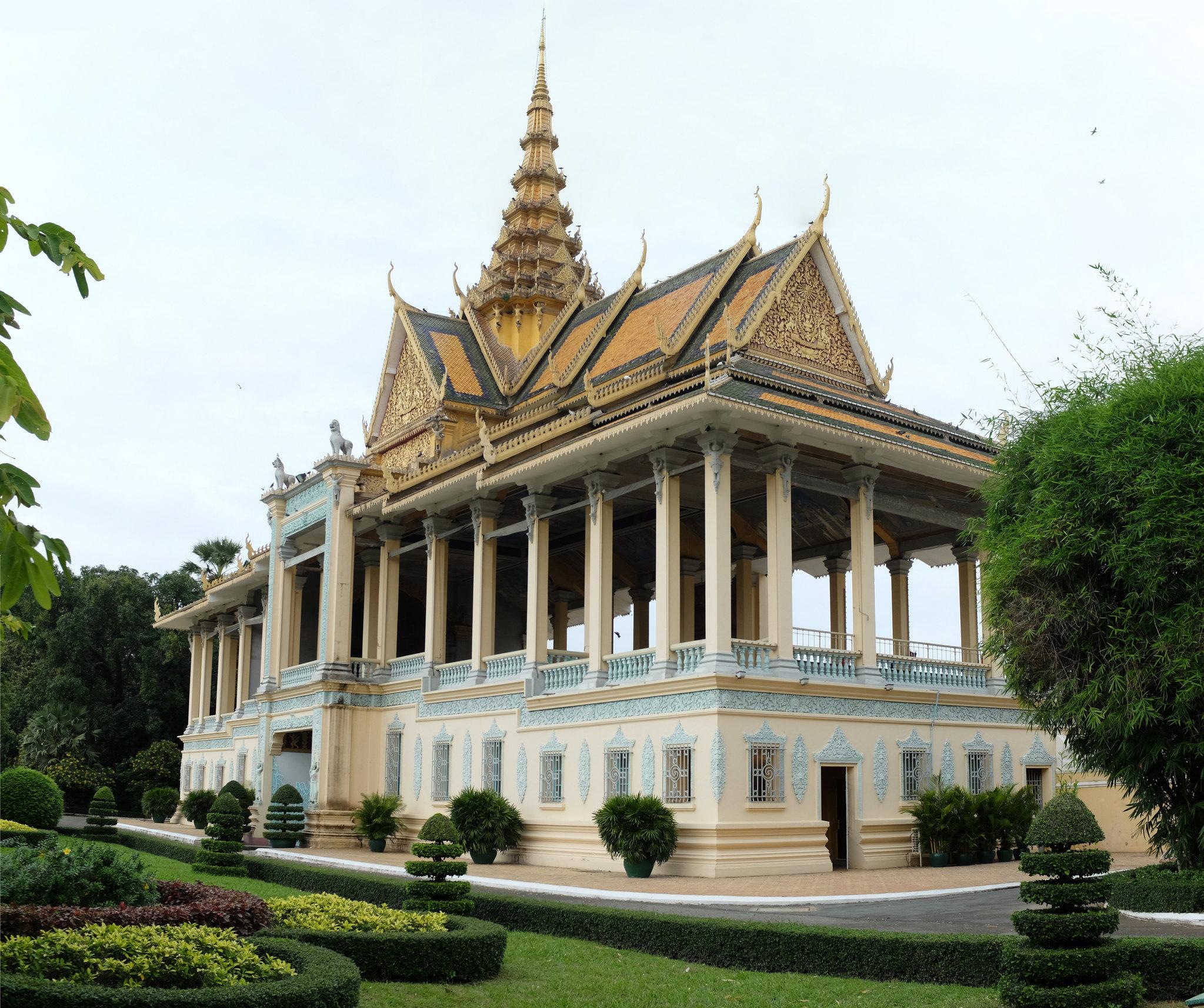 Palastgebäude Phnom Penh