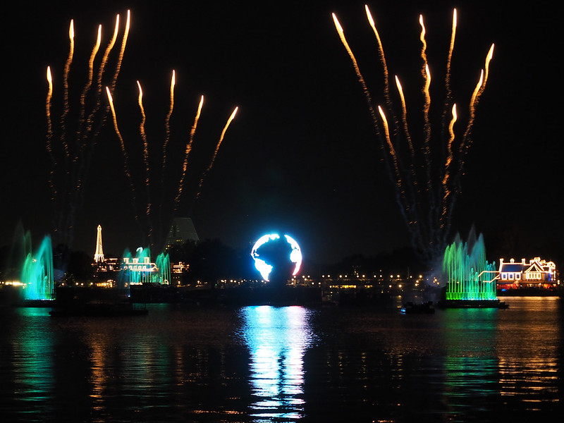 IllumiNations at Epcot in Orlando
