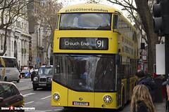 Wrightbus NRM NBFL - LTZ 1747 - LT747 - Lego Store - Crouch End 91 - Metroline - London - 161203 - Steven Gray - IMG_9036
