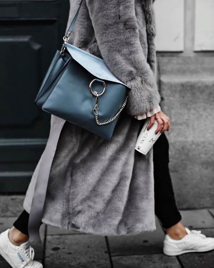 cozay and warm rainy day outfit accessories fall style streetstyle winter style fashion trend7