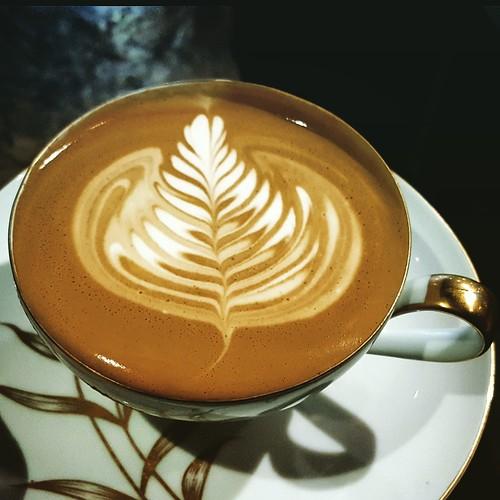 happy new year latte