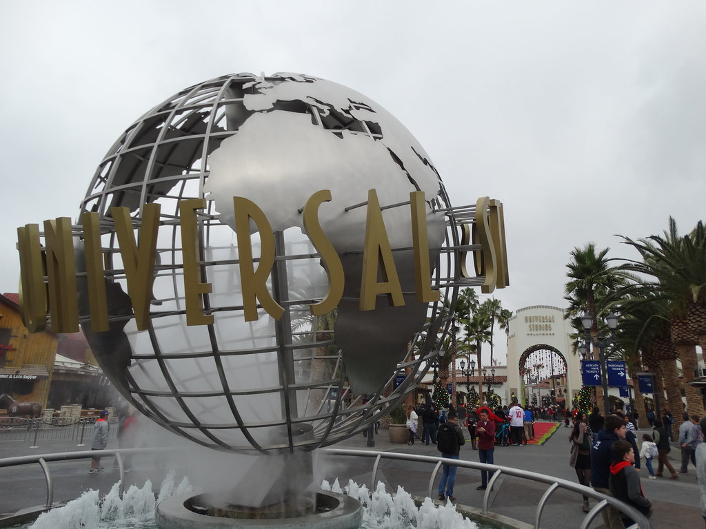 Christmas 2016 at Universal Studios Hollywood