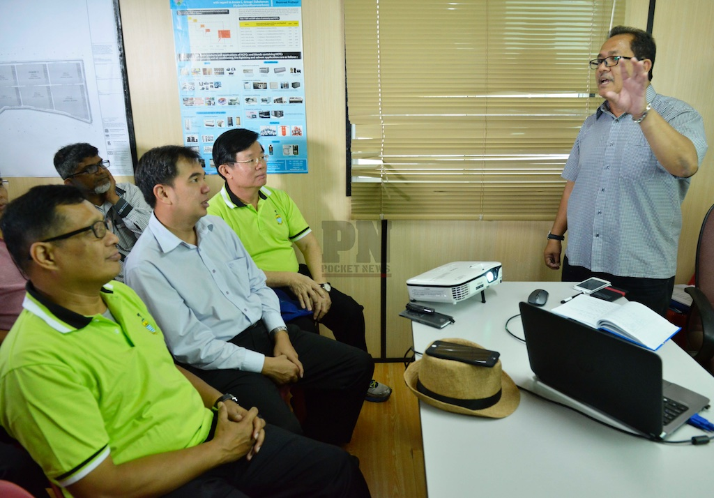 Lawatan Media Ke Tapak Pelupusan Sampah Pulau Pinang (30 December 2016)