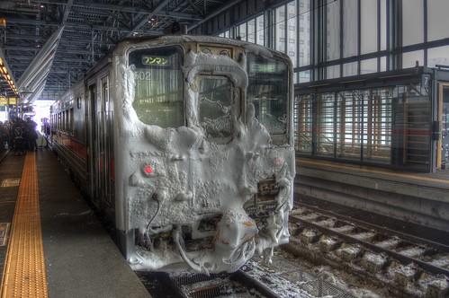 Asahikawa Station on JAN 07, 2017 vol03 (2)