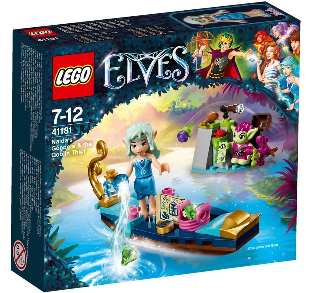 LEGO Elves 41181 - Naida's Gondola and the Goblin Thief