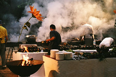 barbecue in a wedding | by Dubi Feiner
