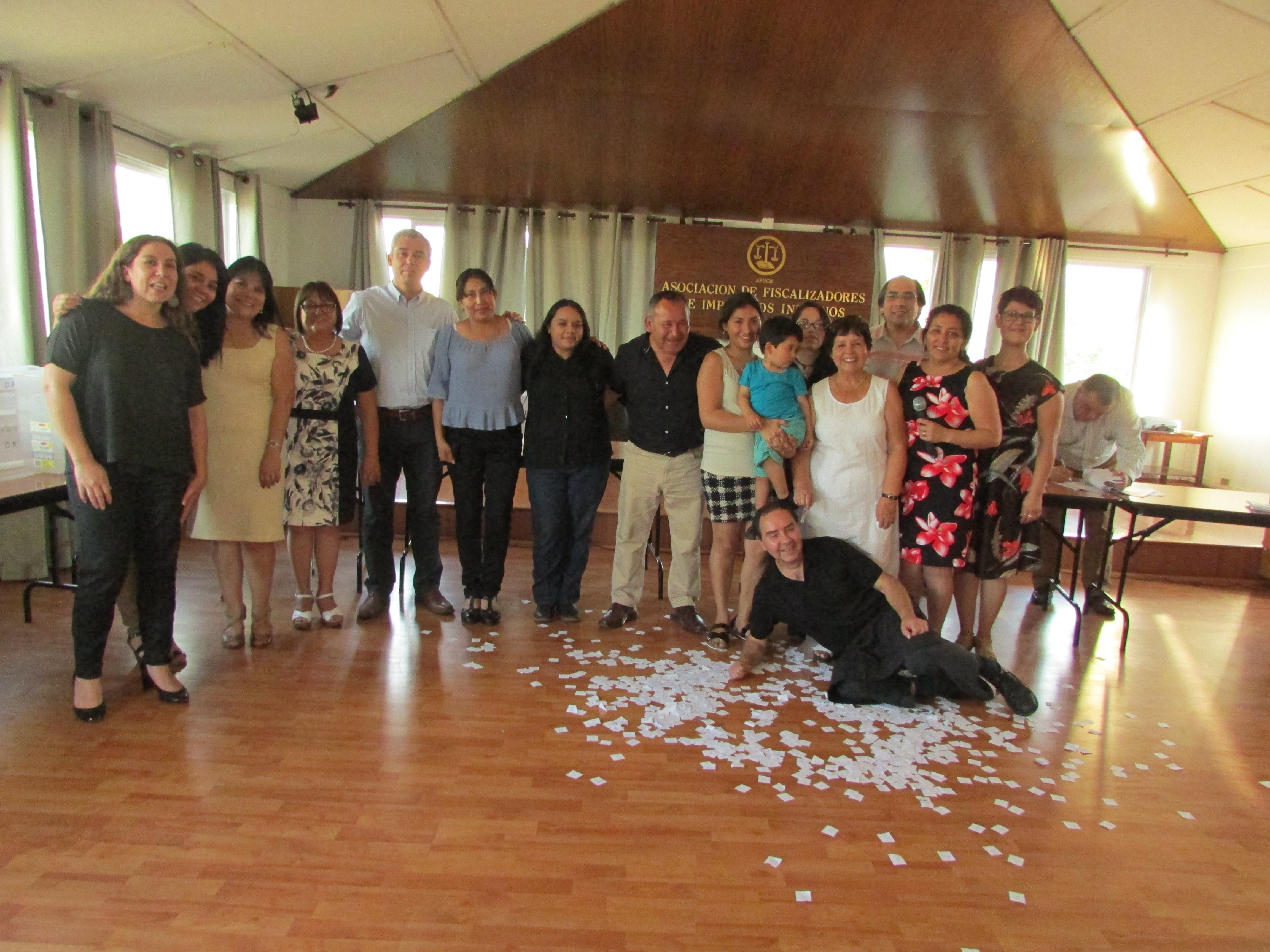 Comisión C.A.S.A – AFIICH realizó su tradicional Rifa - 14 Diciembre 2016