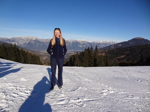 Me on the slopes of Serlesbahnen