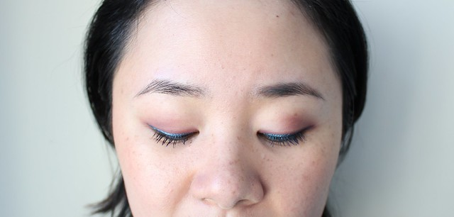 Lancome Grandiôse Mascara Extreme in Bleu Nuit & Grandiôse Eyeliner in Fuchsia, Cerulean, and Silver Snow review and swatches