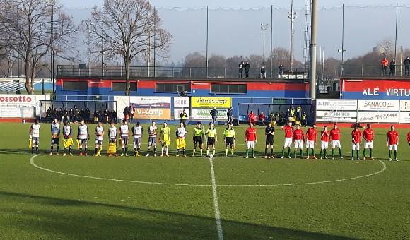 Virtus Verona - Triestina 0-0: rossoblu a testa alta!