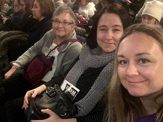 Mom, Nancy, and me at Wicked