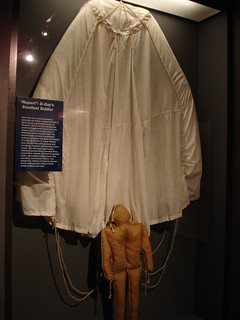 """Rupert"" Dummy Paratrooper, National D-Day Museum, New Orleans LA 