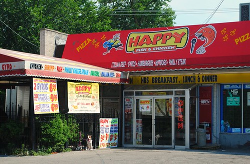 happy fish chicken 55th street damen ave chicago