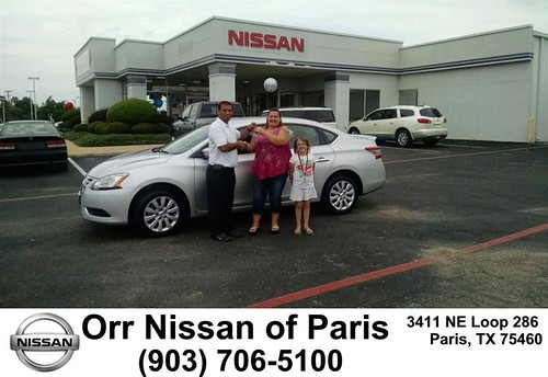 Congratulations to Teresa Harrelson on your Nissan Sentr
