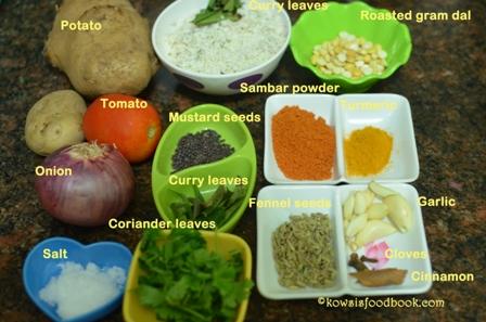 how to make chapati kurma