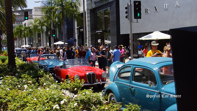Rodeo Drive Concours d'Elegance 2015