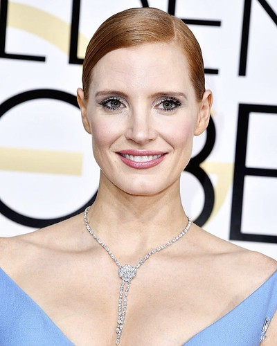 Piaget on Jessica Chastain