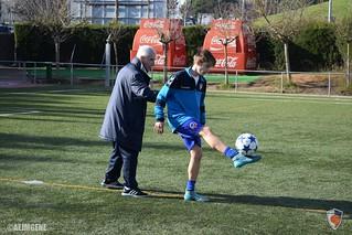 Entrenament de millora individual per a davanters (dia 1)