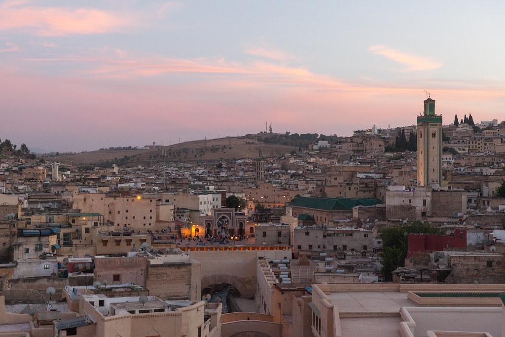 Fez at Sunset