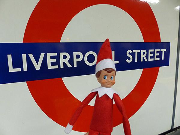 liverpool street's elf