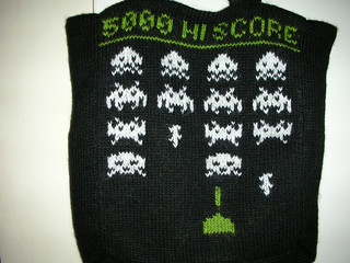 Space Invaders tote bag | by brendaj