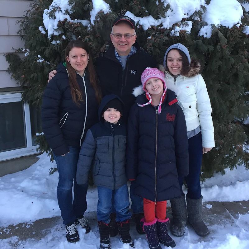 Papa's visit