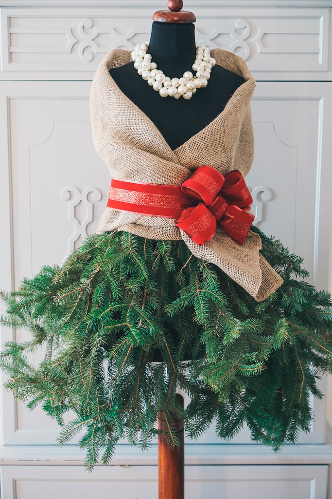 DIY Mannequin Christmas Tree