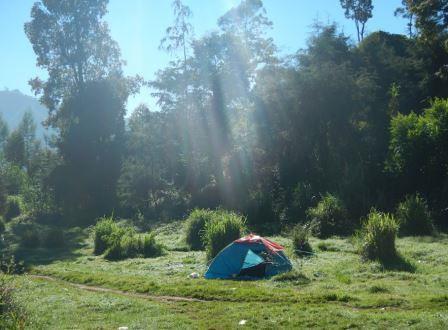 camping di telaga warna