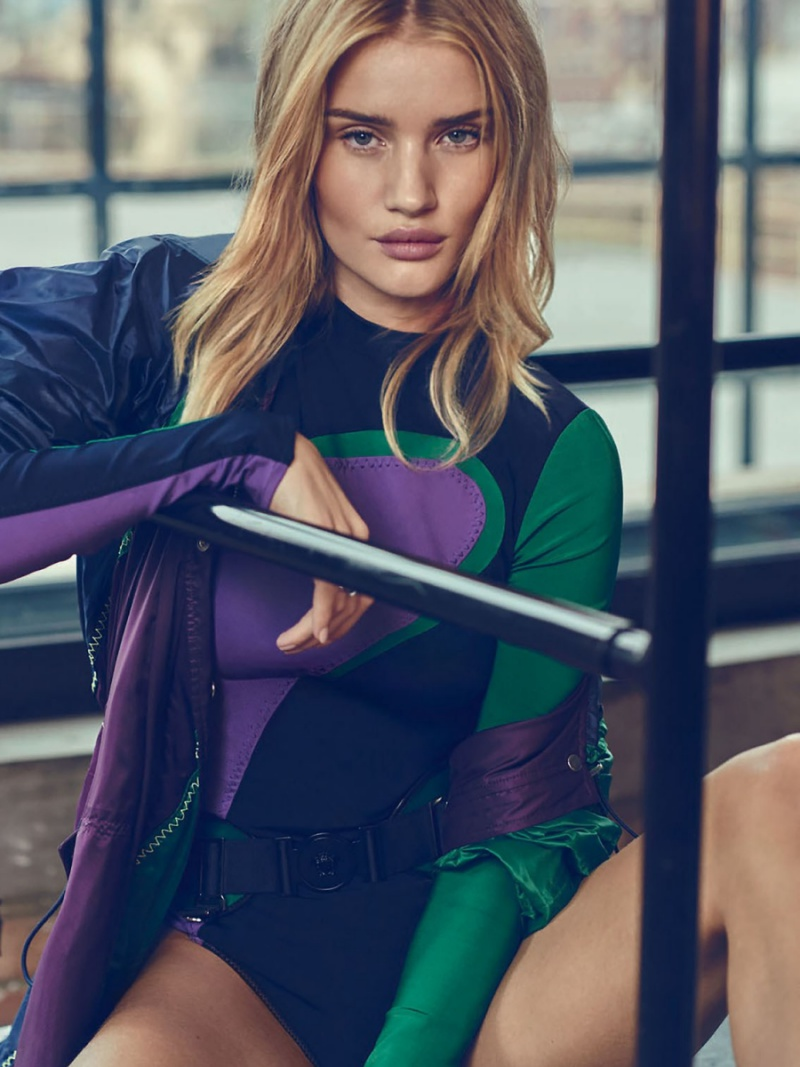 Rosie Huntington Whiteley Elle UK January 2017