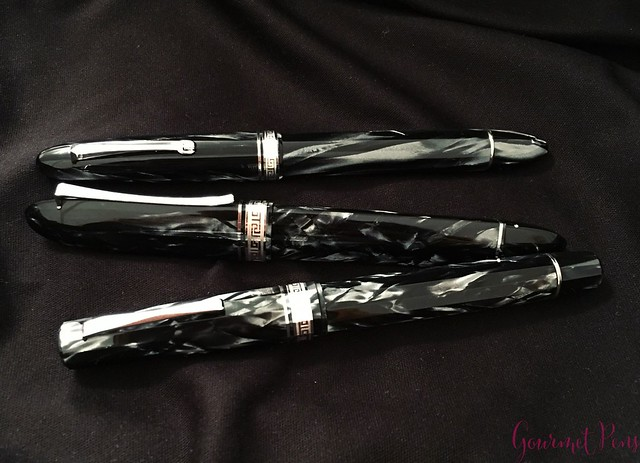 Review 90th Anniversary Omas Icons Celluloid Collection Set @PapierundStift 52
