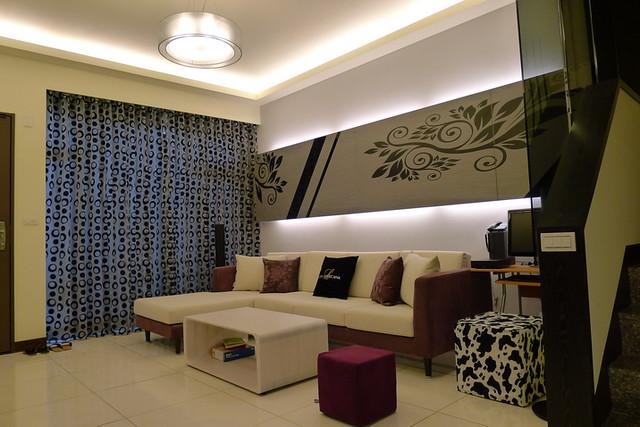室內設計作品-善化蔡公館