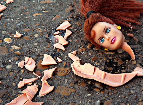 hopelessly lonely and long bitter over her sister barbie's success, stacie succumbs to the voices in her head and leaps to her death from the balcony of her malibu beach house | by iboy_daniel