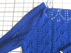 05#7 Long Lace Sweater